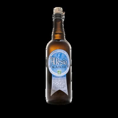 Bière blanche sans gluten bio ALESIA 6.5°, bouteille de 75cl
