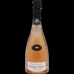 Crémant d'Alsace rosé Arthur Metz cuvée 1904 75cl