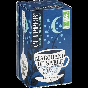 Clipper Infusion Marchand De Sable Bio Clipper, Boîte De 30g