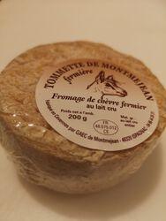 Tomette de chèvre fermier Gaec Montméjean au LAIT cru de chèvre