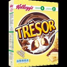 Céréales TRESOR Duo choco Kellogg's, paquet de 400g