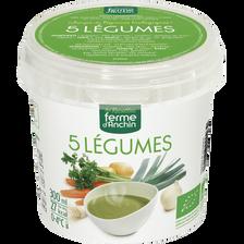 Soupe 5 légumes, BIO, pot 300ml