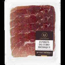Jambon de cebo Ibérique U SAVEURS, 24 mois, 80g