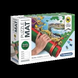 Puzzle mat CLEMENTONI-tapis extra large pour réaliser votre puzzle/leconserver même en cours de réalisation/le stocker/l'enrouler/le rangerdans son tube-pour 500 à 2000 pièces