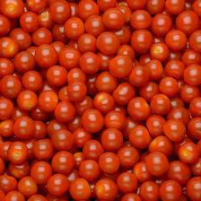 Tomate cerise, segment Les cerises rondes grappes, BIO, catégorie 2, Italie