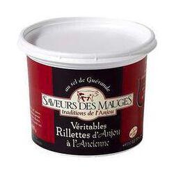 RILLETTES D'ANJOU A L'ANCIENNE 220G SAVEURS DES MAUGES