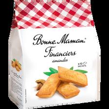 Financier aux amandes BONNE MAMAN, X10 250g