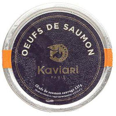 Oeufs de saumon 125g KAVIARI