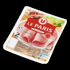 Jambon de Paris VPF U, 2 tranches 90g