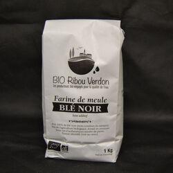 Farine BIO de blé noir, BIO DE RIBOU VERDON ,1kg