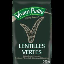 Lentilles vertes VIVIEN PAILLE, 500g