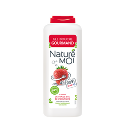 Gel douche corps fraise NATURE MOI, 400ml