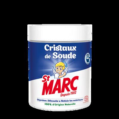 Cristaux de soude dégraisse, débouche & nettoi les extérieurs ST MARC,500g
