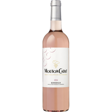 Alfred Rothschild & Cie Vin Rosé Aop Bordeaux Mouton Cadet, Bouteille De 75cl
