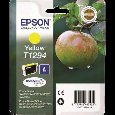 Cartouche d'encre EPSON T1294 Yellow Pomme