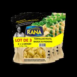Tortellini pesto basilic et pignons RANA, 2+1 offerte, 750g