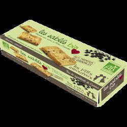 Sablés bio au chocolat, LES P'TITS AMOUREUX, 165g