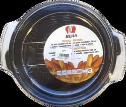 Friteuse en acier emaille BEKA, 26cm, noir