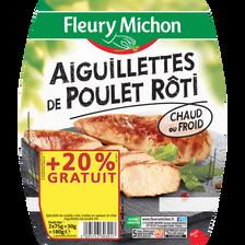 Fleury Michon Aiguillettes De Poulet Grillé  2x75g + 20% Gratuit 180g