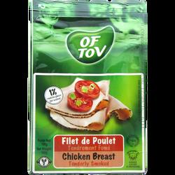 Filet de poulet tendrement fumé casher OF TOV, 100g