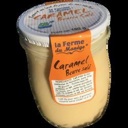 Yaourt entier au lait du jour caramel beurre salé LA FERME DU MANEGE,180g
