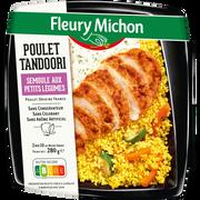 Fleury Michon Poulet Tandoori Semoule Aux Petits Légumes Fleury Michon, 280g