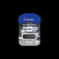 Clé USB 3 VERBATIM 32Go, noir