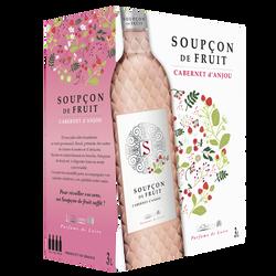 Cabernet d'Anjou AOP rosé Soupçon de Fruit, 3l
