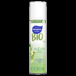 Déodorant bio aloe vera vanille MONSAVON écospray 75ml