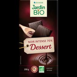 choc noir dessert 70% 200g
