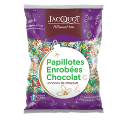 Papillotes enrobées tout chocolat JACQUOT, 470g