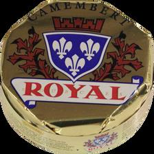 Camembert au lait pasteurisé ROYAL DES SOURCES, 21%MG, 250g