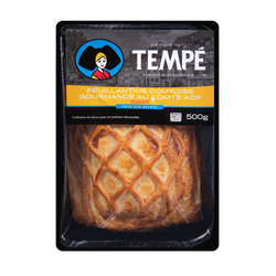 Feuillantine comtoise gourmande au comté AOP MAURER TEMPE, 500g