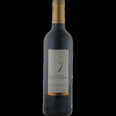 Corbières Boutenac rouge AOP CVT Domaine Fontsèque, bouteille de  75cl