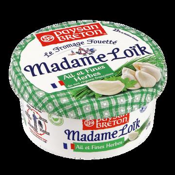 Paysan Breton Fromage Fouetté Ail Et Fines Herbes Madame Loick, 23% De Mg, 275g