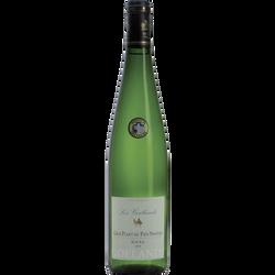 Vin blanc AOC Gros Plant sur Lie du pays nantais LES GOELANDS, bouteille de 75cl