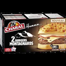 Le burger montagnard CHARAL, 2x175g