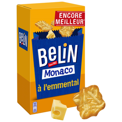 Crackers monaco Lu BELIN, paquet de 50g