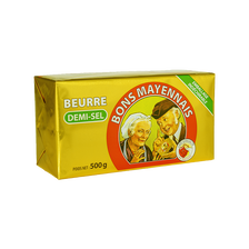 Beurre demi-sel BONS MAYENNAIS, 500g