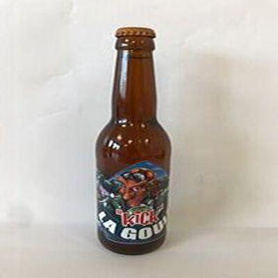 "La Goule""Bière Blonde  "" La Brasserie  Artisanale ,33cl,8% vol"
