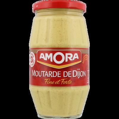 Moutarde forte de Dijon AMORA, bocal de 440g
