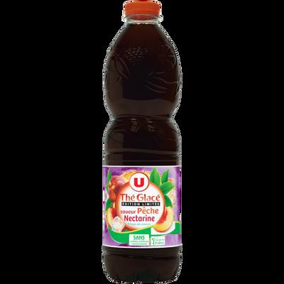 Boisson aux extraits de thé aromatisée saveur pêche nectarine U, 1,5l