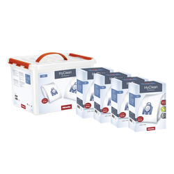 Pack tranquilite MIELE GN-comprenant:16 sacs hyclean 3d