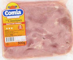 Epaule standard cuite découennée COMIA, 10 tranches, 500g