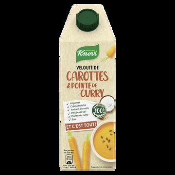 Knorr Velouté De Carottes Et Pointe De Curry Knorr, 750ml