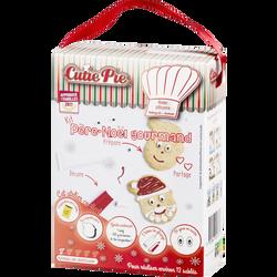 Kit pour sablés en forme de Père Noël CUTIE PIE, 300g