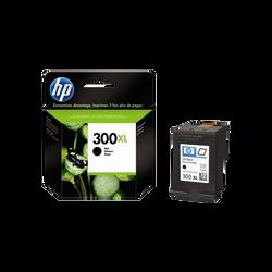 Cartouche d'encre HP pour imprimante, CC641EE noir n°300XL, sous blister