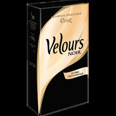 Café moulu VELOURS NOIR, paquet de 250g