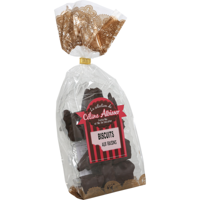 Pain d'épices chocolat noir/confi.BISCUITERIE ALBISSER, 175g