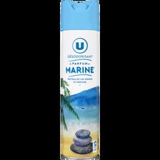 Désodorisant parfum marine U, aérosol de 300ml